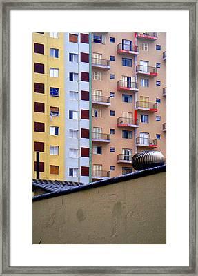 Striped Framed Print by Roberto Alamino