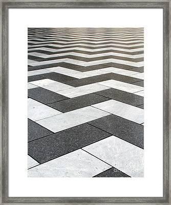 Stripes Framed Print by Linda Woods