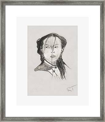 Strong Beauty Framed Print by Rob Turner