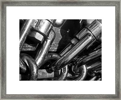 Framed Print featuring the photograph Strong by David Pantuso