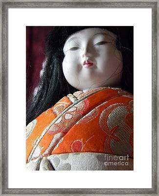 Strong Doll Framed Print by Anita V Bauer