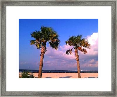 Framed Print featuring the photograph Strong Friends Facing It All Together by Brian Wright