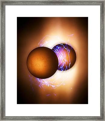 Strong Nuclear Force Framed Print by Richard Kail