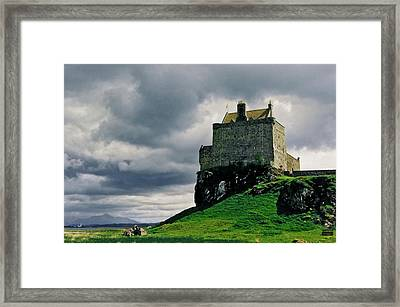 Stronghold Framed Print