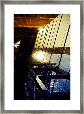 Framed Print featuring the photograph Structural Vision by JM Photography