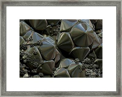 Structure Elements Framed Print by Jan Willem Van Swigchem