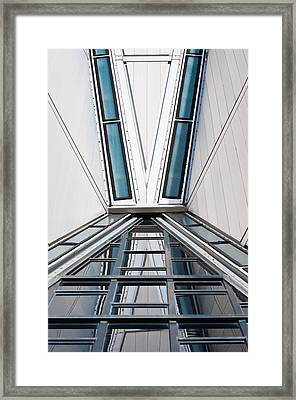 Structure Reflections Framed Print