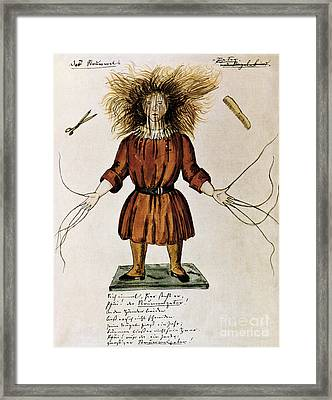 Struwwelpeter Framed Print by Photo Researchers