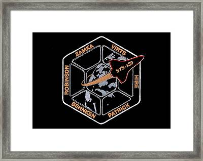Sts-130 Framed Print by Jim Ross