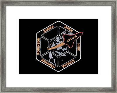 Sts-130 Framed Print