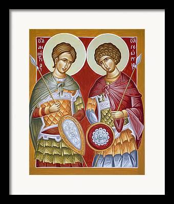 St Dimitrios Paintings Framed Prints