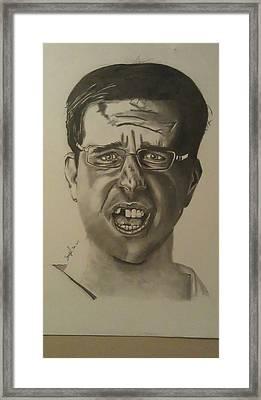 Stu Framed Print by Shawn Brooks