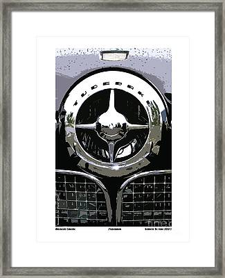 Studebaker American Chrome Framed Print by Kenneth De Tore