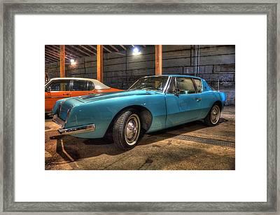 Studebaker Avanti Framed Print