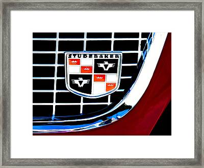 Studebaker Badge Framed Print by Douglas Pittman