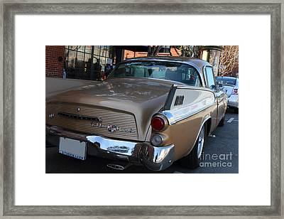 Studebaker Golden Hawk . 7d14182 Framed Print by Wingsdomain Art and Photography