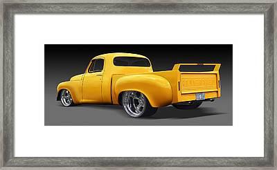 Studebaker Truck Framed Print by Mike McGlothlen