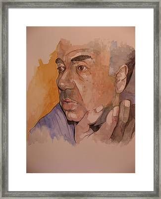 Study For Rev Joe Framed Print