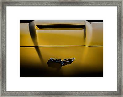 Study In Yellow Framed Print