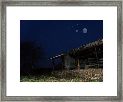 Stunning Over Stall Framed Print by Doug Kean