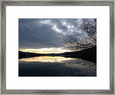 Stunning Tranquility Framed Print by Will Borden