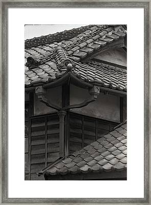 Framed Print featuring the photograph Style And Grace In Tile by Craig Wood
