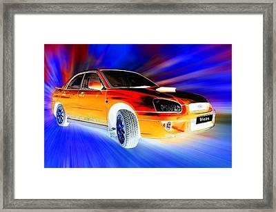 Subaru Framed Print