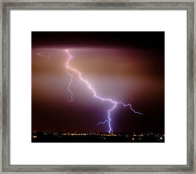 Subsequent Electrical Transfer Framed Print by James BO  Insogna