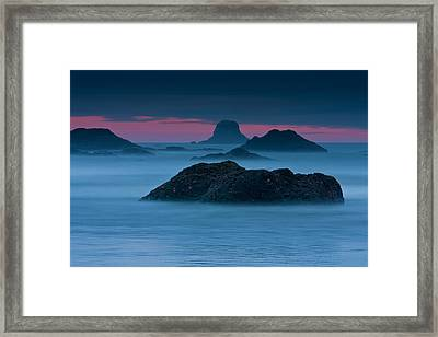 Subtle Bliss Framed Print by Mark Kiver