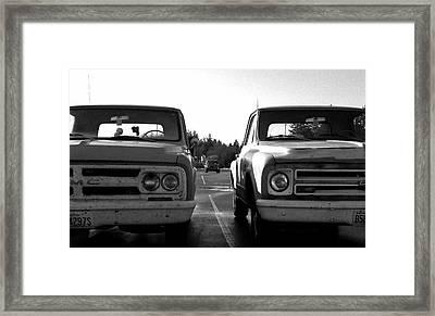 Subtle Differences Framed Print by Kevin D Davis