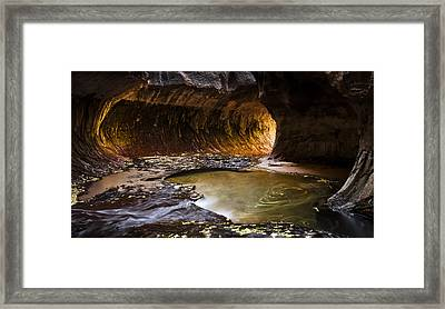 Path Of Light Framed Print by Jim Speth