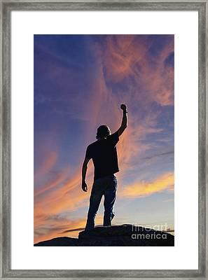 Success - D008000a Framed Print
