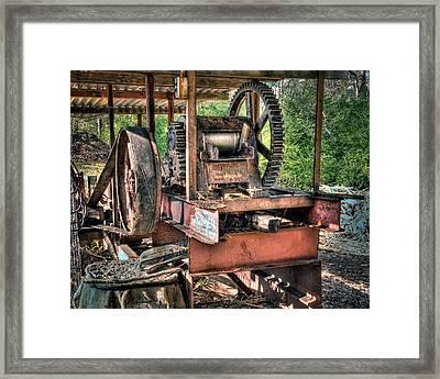 Sugar Cane Mill Framed Print by Tamyra Ayles