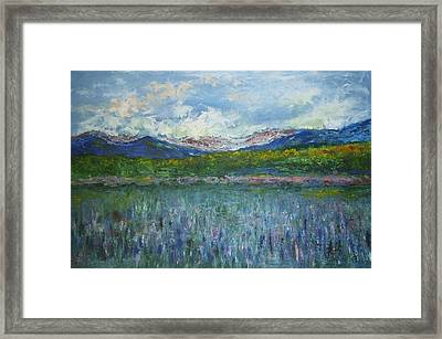 Sugar Hill Nh Framed Print by Michel Croteau