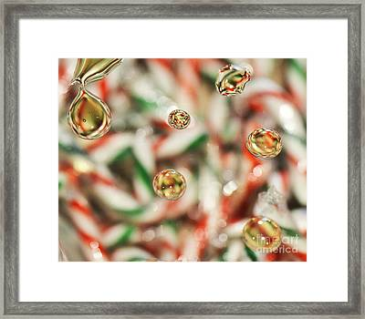 Sugar On Canes Framed Print