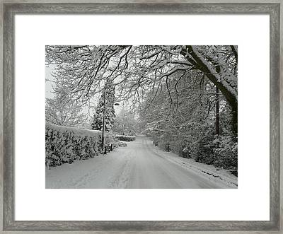 Sugar Road II Framed Print by Rdr Creative