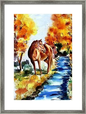 Framed Print featuring the painting Sugar  by Sharon Mick