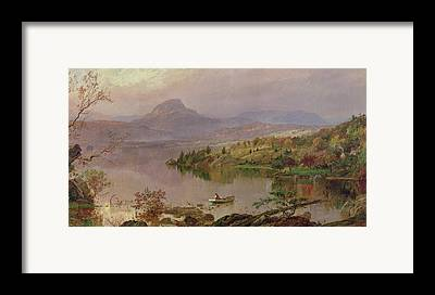 Maine Spring Paintings Framed Prints