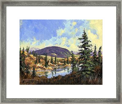 Sugarloaf Mountain Framed Print by Kurt Jacobson