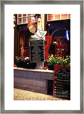 Suggestions Framed Print