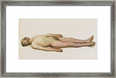 Suicide By Hanging, 1898 Framed Print