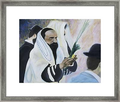 Sukkot Framed Print by Iris Gill