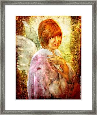 Sullivan. Angel Framed Print