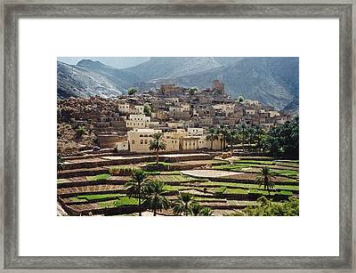 Sultanat D'oman Framed Print by Micheline Canal