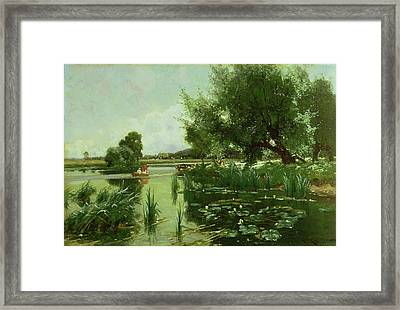 Summer - One Of A Set Of The Four Seasons Framed Print by Arthur Walker Redgate