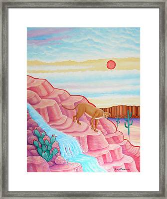 Summer Afternoon Framed Print by Tracy Dennison