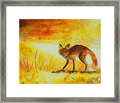 Summer And Autumn  Framed Print by Sydney Gregory