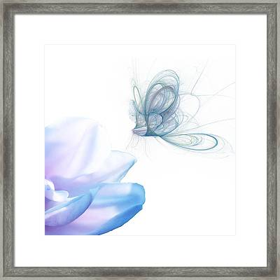 Summer Blue Framed Print