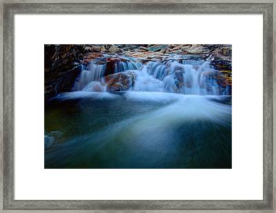 Summer Cascade Framed Print by Chad Dutson