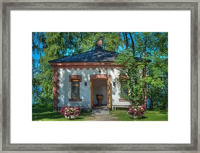 Summer Chapel Framed Print by Ari Salmela